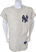 Baseball Collectibles:Uniforms, 1958 Elston Howard Game Worn New York Yankees Jersey....