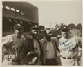 Autographs:Photos, 1942 Babe Ruth Signed Photograph from The Pride of theYankees Filming. ...
