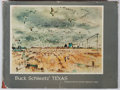 Books:Art & Architecture, E. M. Schiwetz. SIGNED. Buck Schiwetz' Texas. UT Press, 1960. First edition, first printing. Signed by the aut...