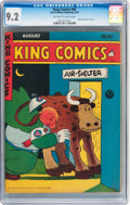 Golden Age (1938-1955):Miscellaneous, King Comics #88 (David McKay Publications, 1943) CGC NM- 9.2 Off-white to white pages....