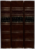 Books:Reference & Bibliography, Encyclopaedia Britannica. Vol. I-III. Facsimile of 1771first edition. Mild rubbing, else fine.... (Total: 3 Items)