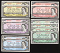 Canadian Currency: , An Assortment of Canadian Notes from the 1954 Issue.. ... (Total:12 notes)
