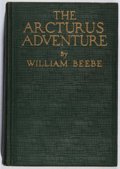 Books:Natural History Books & Prints, William Beebe. The Arcturus Adventure. Putnam, 1926. Third printing. Foxing and offsetting. Binding cracked. Very go...