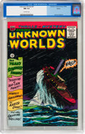 Silver Age (1956-1969):Horror, Unknown Worlds #47 Boston pedigree (ACG, 1966) CGC NM 9.4 Off-whitepages....