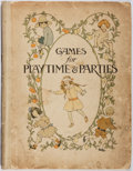 Books:Children's Books, Stanley V. Wilman. Games for Playtime & Parties. Jack,ca. 1918. Hinges cracked. Thumb-soil. Notations. Color il...