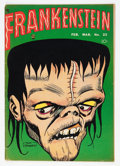 Golden Age (1938-1955):Horror, Frankenstein Comics #23 (Prize, 1953) Condition: FN....