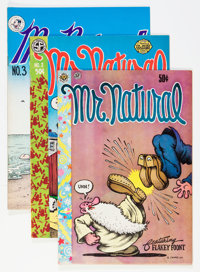 Mr. Natural #1-3 First Printing Group (Various, 1970-77).... (Total: 3 Comic Books)