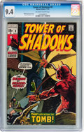 Bronze Age (1970-1979):Horror, Tower of Shadows #8 (Marvel, 1970) CGC NM 9.4 Off-white to whitepages....