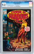 Bronze Age (1970-1979):Horror, Tower of Shadows #4 (Marvel, 1970) CGC NM- 9.2 Off-white to whitepages....