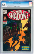 Bronze Age (1970-1979):Horror, Tower of Shadows #3 (Marvel, 1970) CGC NM 9.4 Off-white to whitepages....
