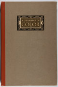 Books:Reference & Bibliography, Strathmore Papers. A Grammar of Color. Strathmore, 1921.First edition, first printing. Toning. Very good....