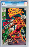 Bronze Age (1970-1979):Horror, Chamber of Darkness #7 (Marvel, 1970) CGC NM 9.4 Off-white to whitepages....