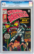 Bronze Age (1970-1979):Horror, Chamber of Darkness #6 (Marvel, 1970) CGC NM- 9.2 Off-white to white pages....