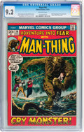 Bronze Age (1970-1979):Horror, Fear #10 (Marvel, 1972) CGC NM- 9.2 Off-white pages....