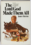 Books:Biography & Memoir, James Herriot. The Lord God Made Them All. St. Martin's,1981. First edition, first printing. Owner inscription....