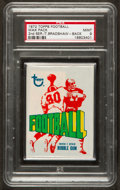 Football Cards:Singles (1970-Now), 1972 Topps Football 2nd Series Unopened Wax Pack PSA Mint 9 WithBradshaw on Back! ...