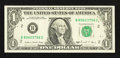 Error Notes:Blank Reverse (<100%), Fr. 1914-B $1 1988 Federal Reserve Note. Very Fine.. ...