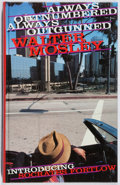 Books:Mystery & Detective Fiction, Walter Mosley. SIGNED. Always Outnumbered, Always Outgunned.Serpent's Tail, 1997. First British edition, first prin...