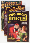 Pulps:Detective, Assorted Detective Pulps Group (Various, 1933-39).... (Total: 4 Items)