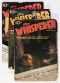 Pulps:Detective, The Whisperer Group (Street & Smith, 1936-37) Condition:Average VG.... (Total: 6 Items)
