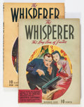Pulps:Detective, The Whisperer Group (Street & Smith, 1941-42) Condition:Average VG.... (Total: 2 Items)