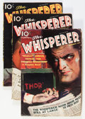 Pulps:Detective, The Whisperer Group (Street & Smith, 1936-37) Condition:Average VG.... (Total: 3 Items)