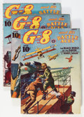 Pulps:Hero, G-8 and His Battle Aces '39 Group (Popular, 1939) Condition: Average VG.... (Total: 7 Items)