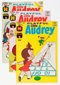 Bronze Age (1970-1979):Humor, Playful Little Audrey File Copies Group (Harvey, 1973-76)Condition: Average NM-.... (Total: 72 Comic Books)
