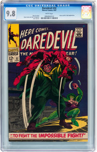 Daredevil #32 (Marvel, 1967) CGC NM/MT 9.8 White pages