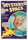 Silver Age (1956-1969):Science Fiction, Mystery in Space #38 (DC, 1957) Condition: FN+....