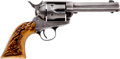 Handguns:Single Action Revolver, Colt Single Action Army Revolver with Stag Grips....