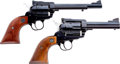 Handguns:Single Action Revolver, Lot of Two Sturm-Ruger Single Action Revolvers.... (Total: 2 Items)