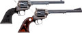 Handguns:Single Action Revolver, Lot of Two Colt Single Action Revolvers.... (Total: 2 Items)