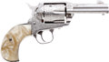 Handguns:Single Action Revolver, Boxed and Custom Engraved Sturm-Ruger Vaquero Single Action Revolver....