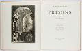 Books:Literature 1900-up, Aldous Huxley. Prisons. Trianon Press, 1949. First edition,limited to 1000 unnumbered copies. Illustrated. No dj. B...