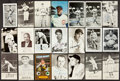 Baseball Collectibles:Others, Baseball Greats Signed Postcards Lot of 21....