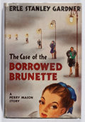 Books:Mystery & Detective Fiction, Erle Stanley Gardner. The Case of the Borrowed Brunette. Morrow, 1946. First edition, first printing. Light chipping...