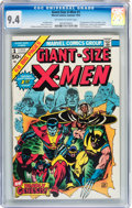 Bronze Age (1970-1979):Superhero, Giant-Size X-Men #1 (Marvel, 1975) CGC NM 9.4 Off-white to whitepages....