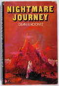 Books:Horror & Supernatural, Dean R. Koontz. Nightmare Journey. Putnam, 1975. Firstedition, first printing. Leaning. Toning. Small label removed...