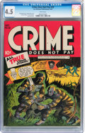 Golden Age (1938-1955):Crime, Crime Does Not Pay #29 (Lev Gleason, 1943) CGC VG+ 4.5 White pages....