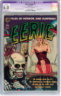 Golden Age (1938-1955):Horror, Eerie #1 (Avon, 1951) CGC Apparent FN 6.0 Slight (A) Off-white towhite pages.. ...