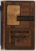 Books:Literature Pre-1900, Mark Twain. Life on the Mississippi. Osgood, 1883. Firstedition, second state. Hinges broken and textblock part...