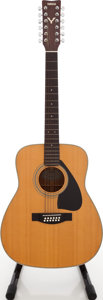 Musical Instruments:Acoustic Guitars, 1980s Yamaha FG-420-12 Natural 12-String Acoustic Guitar, Serial #60701078....