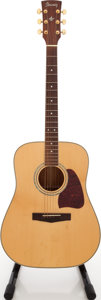 Musical Instruments:Acoustic Guitars, Ibanez AW-100 Natural Acoustic Guitar, Serial # C03011296....