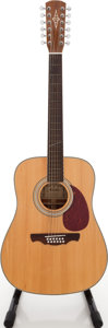 Musical Instruments:Acoustic Guitars, Alvarez AD-60S Natural 12 String Acoustic Guitar, Serial #M00070355....