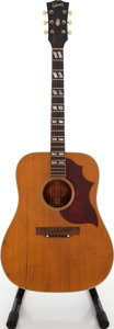 Musical Instruments:Acoustic Guitars, 1968 Gibson SJ Natural Acoustic Guitar, Serial # 951120....