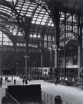 Photographs, BERENICE ABBOTT (American, 1898-1991). Old Penn Station, circa 1936. Gelatin silver, printed later. 13 x 10-1/2 inches (...