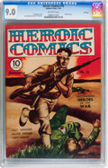 Golden Age (1938-1955):War, Heroic Comics #16 File Copy (Eastern Color, 1943) CGC VF/NM 9.0Off-white pages....