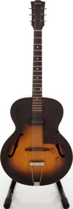 Musical Instruments:Electric Guitars, 1954 Gibson ES-125 Sunburst Archtop Electric Guitar, Serial # X867225....