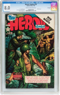 Golden Age (1938-1955):War, Heroic Comics #79 File Copy (Eastern Color, 1953) CGC VF 8.0 Creamto off-white pages....